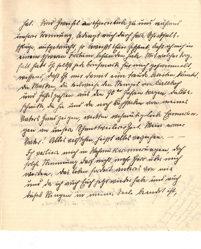 Eugen and Lisbeth Haas to Eugen Klee, July 25, 1925, p. 3