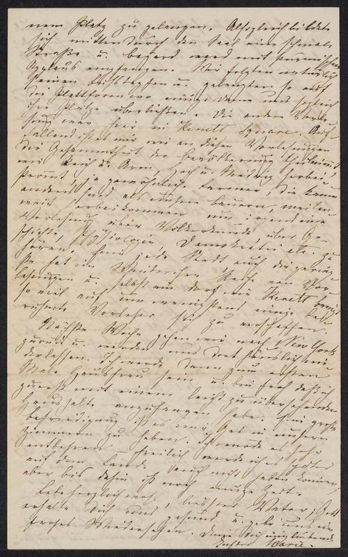 Marie Hansen Taylor to Lina Hansen, November 25, 1858, p. 4
