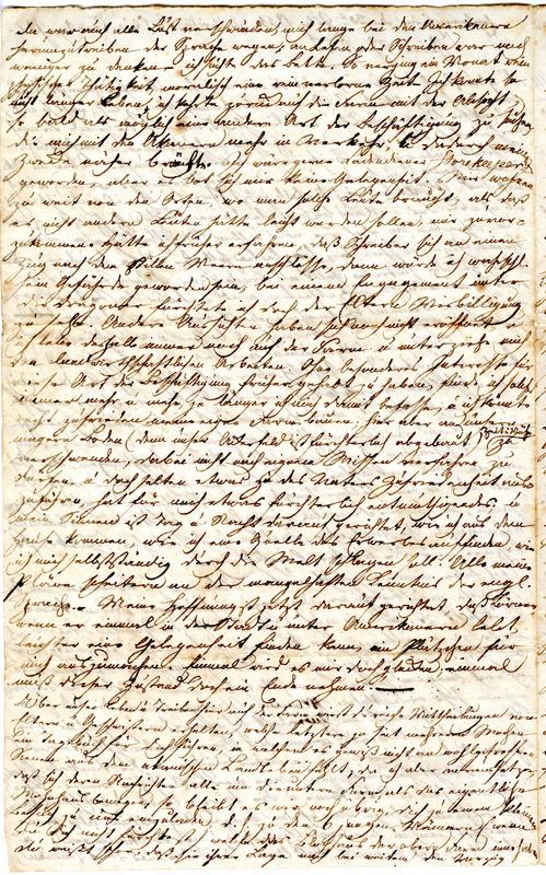 Theodor Engelmann to Margarethe Hilgard, July 30, 1834, p. 2
