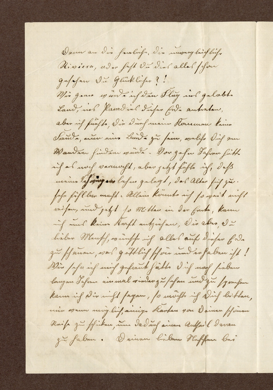Lenchen Cherdron to Eugen Klee, July 22, 1911, p. 2