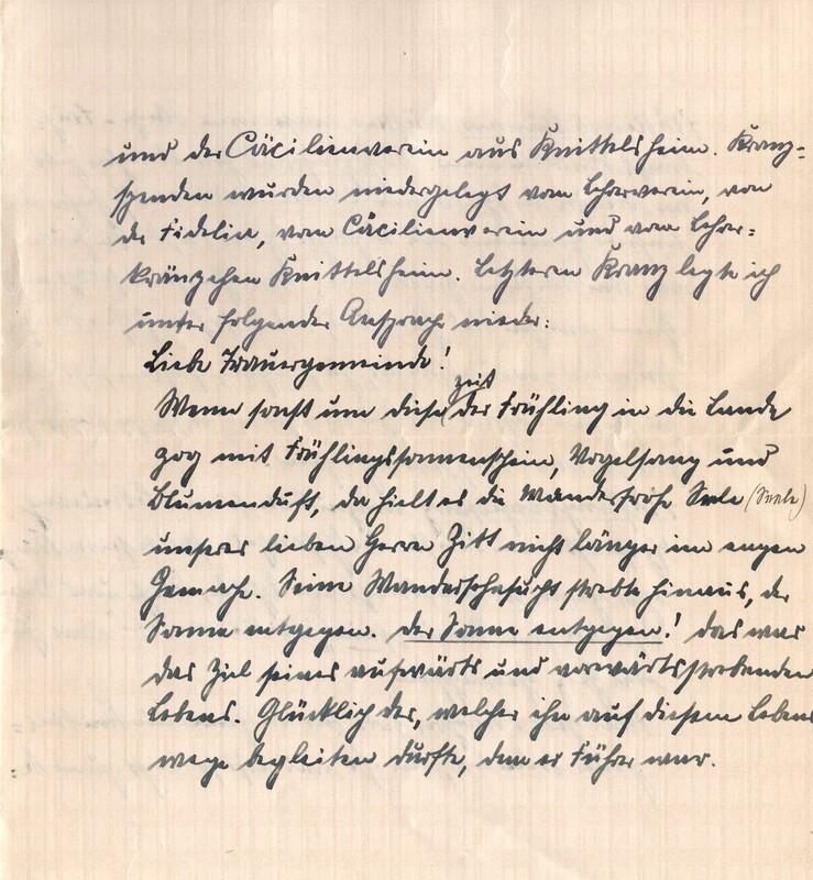 Eugen and Lisbeth Haas to Eugen Klee, April 13, 1926, p. 5