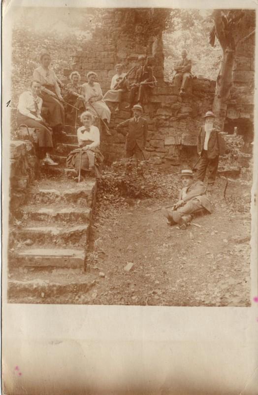 Eugen Haas to Eugen and Emma Klee, July 5, 1919, postcard #7 (front)