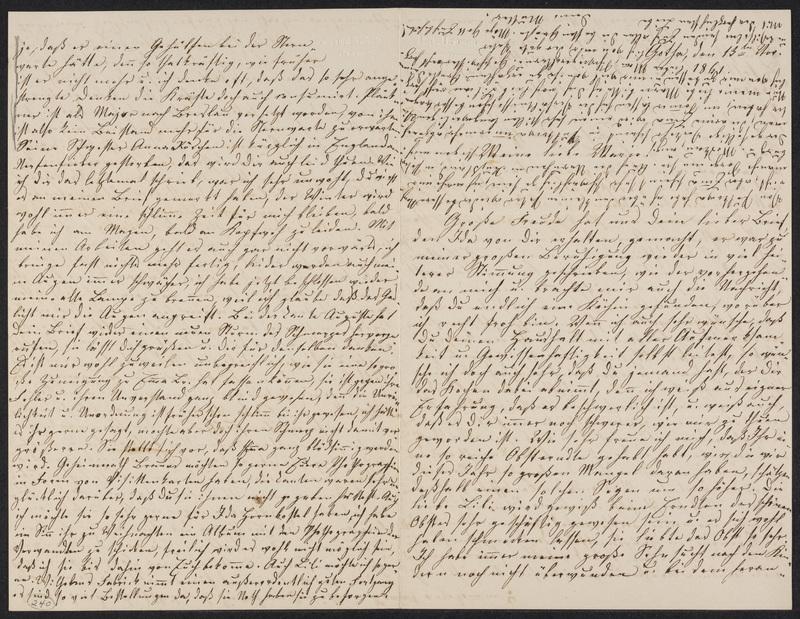 Lina Hansen to Marie Hansen Taylor, November 13, 1861