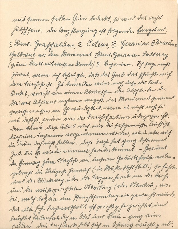 Eugen and Lisbeth Haas to Eugen Klee, June, 1927, p. 6