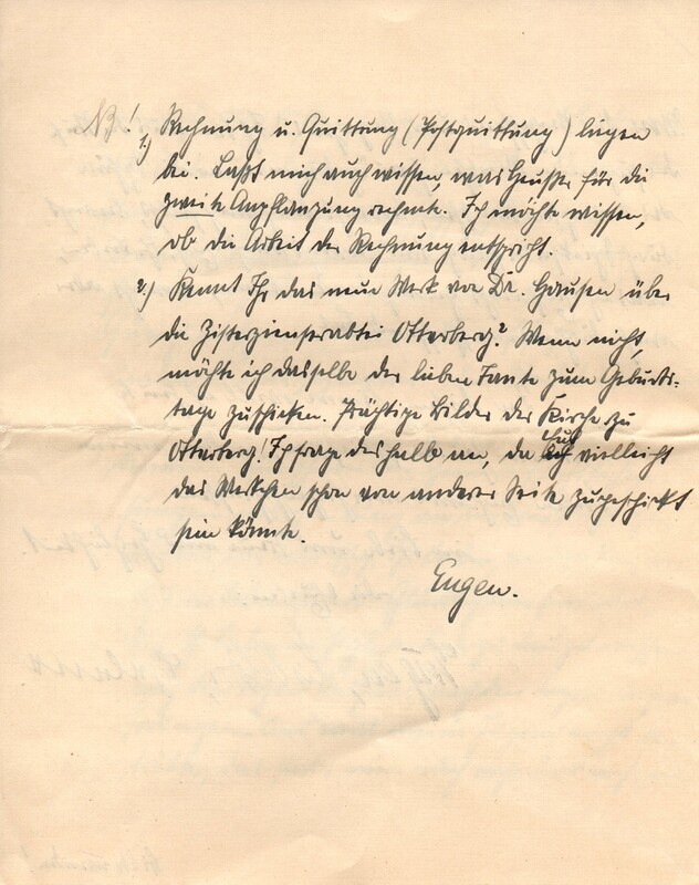 Eugen and Lisbeth Haas to Eugen Klee, July 19, 1926, p. 12