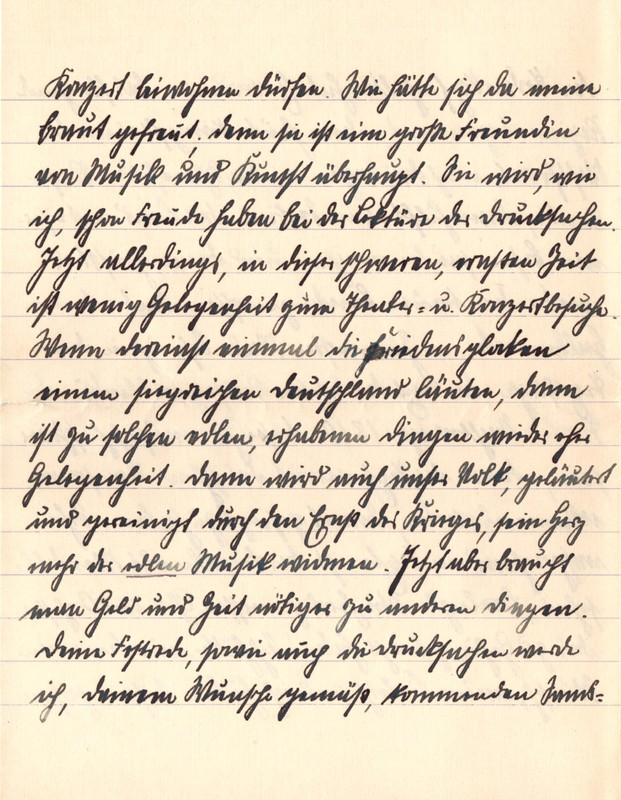 Eugen Haas to Eugen Klee, January 29, 1916, page 3