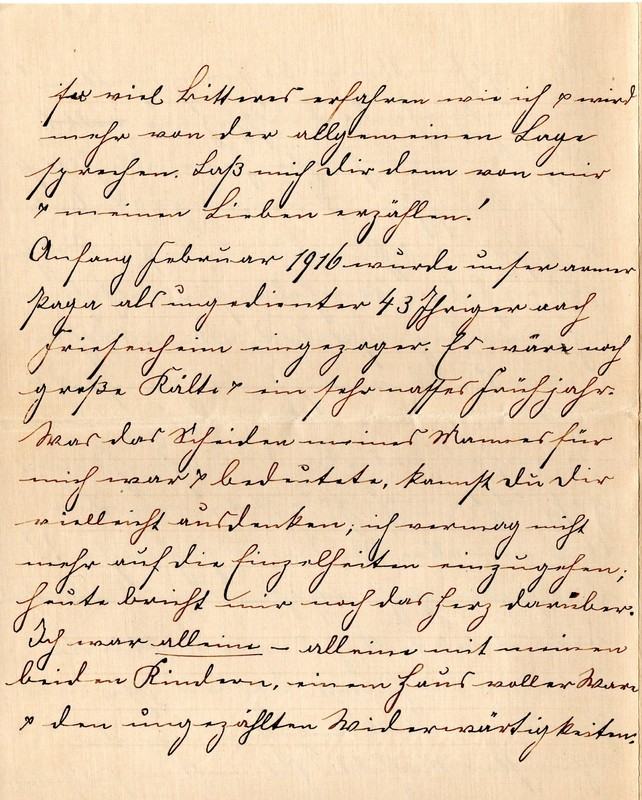 Lenchen Berdel to Eugen Klee, August 6, 1919, p. 4