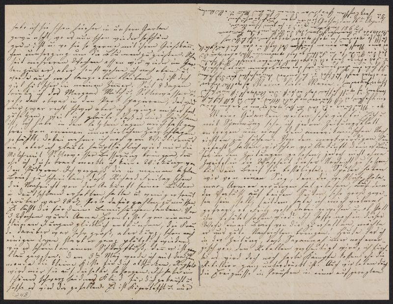 Lina Hansen to Marie Hansen Taylor, April 16, 1862