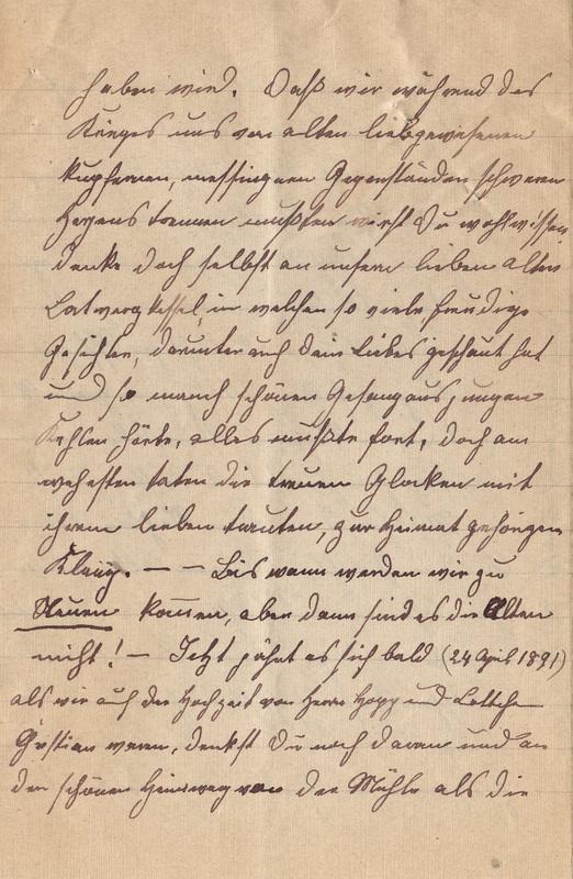 Lenchen Cherdron to Eugen Klee, April, 1920, p. 8