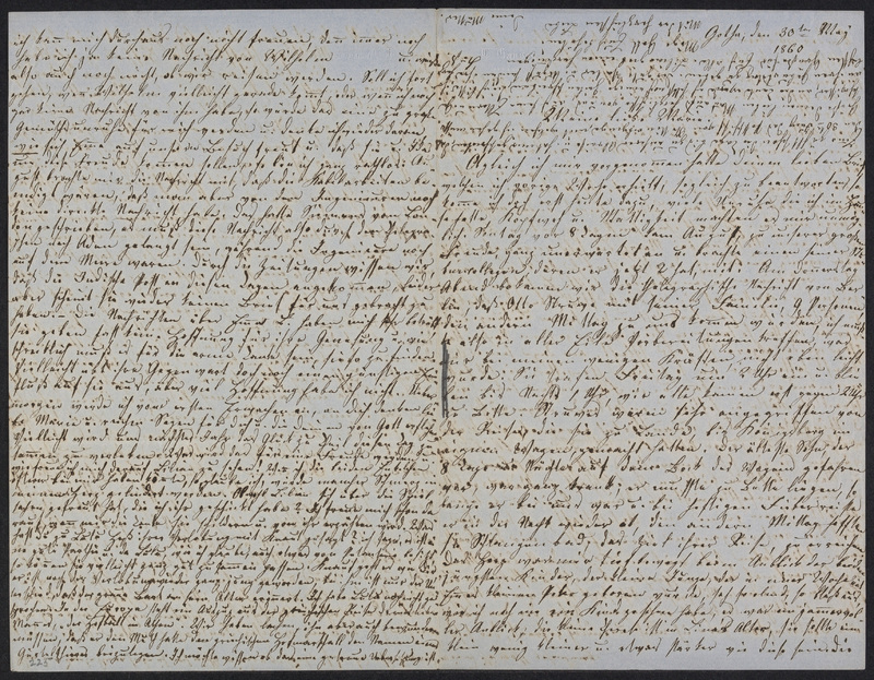 Lina Hansen to Marie Hansen Taylor, May 30, 1860
