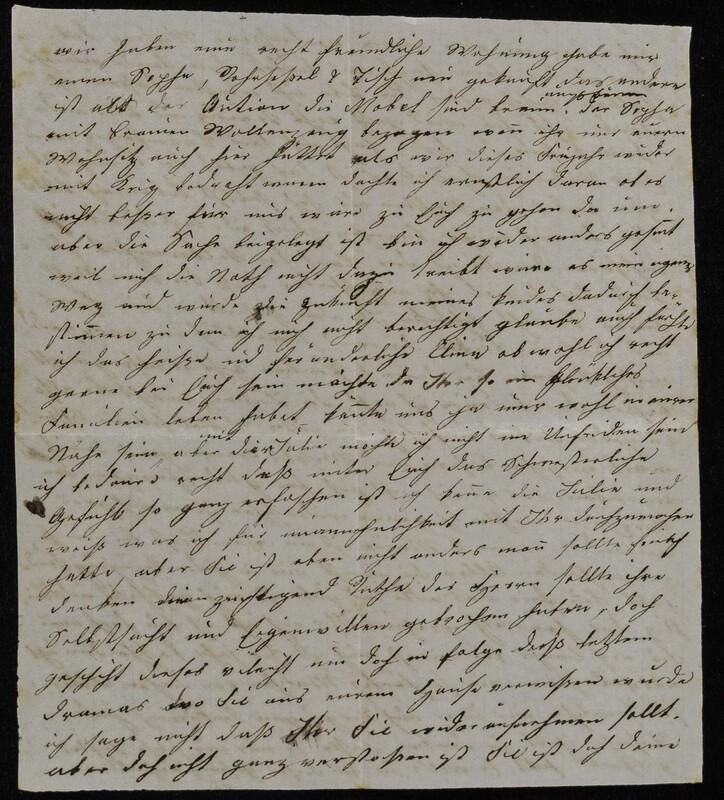 Babette Tritschler [?] to Charlotte von Höfeln, n.d.