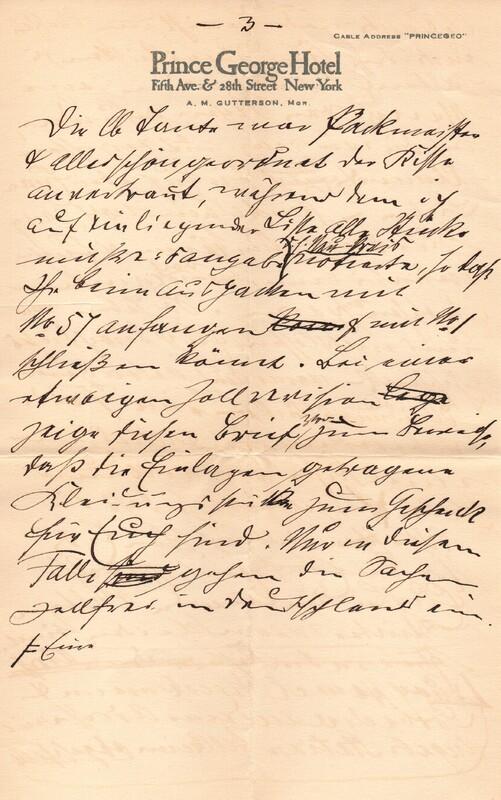 Klee family letter, November 4, 1927, p. 3