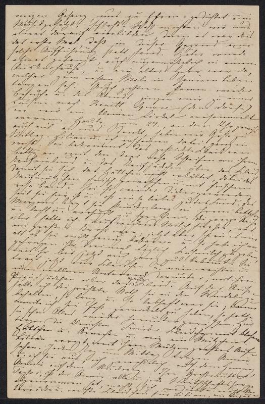 Marie Hansen Taylor to Lina Hansen, October 25, 1858, p. 4