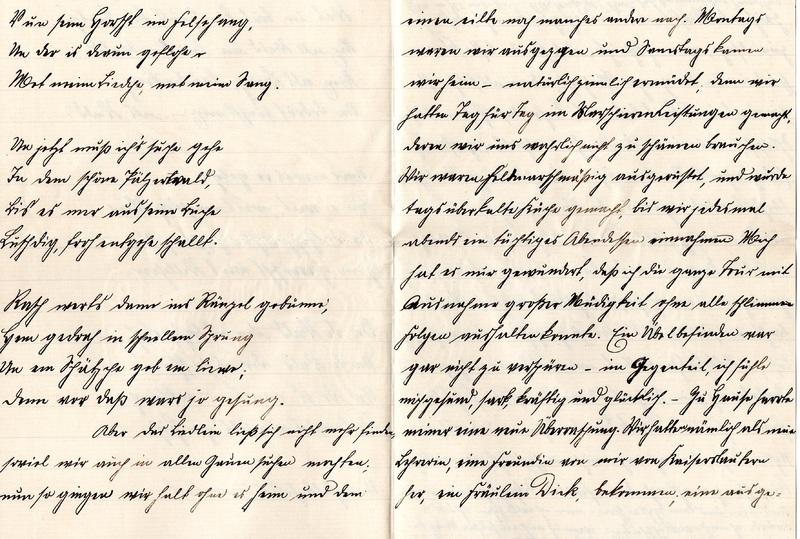 Eugen Haas to Eugen Klee, August 25, 1909, page 5