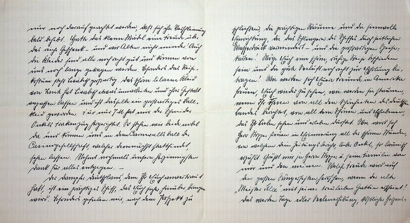 Eugen Haas to Eugen Klee, Feb. 8, 1926, p. 2 and p. 3