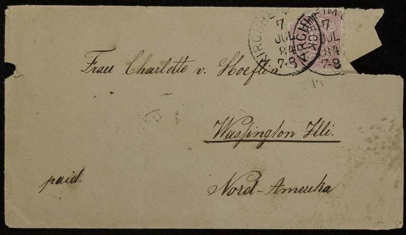 Hofeln family letter, January 13, 1884