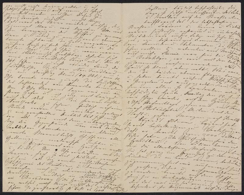 Marie Hansen Taylor to Lina Hansen, October 21, 1858, p. 2 and p. 3