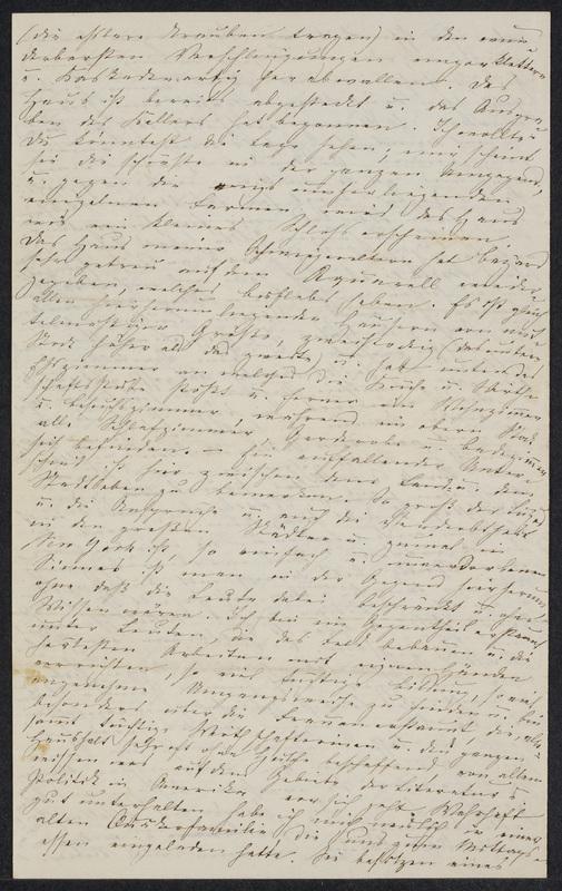 Marie Hansen Taylor to Lina Hansen, November 14, 1858, p. 4
