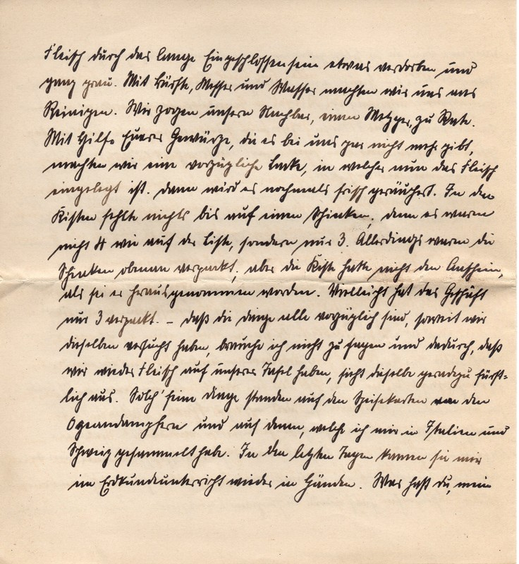 Eugen and Lisbeth Haas to Eugen Klee, August 21, 1920, p. 4