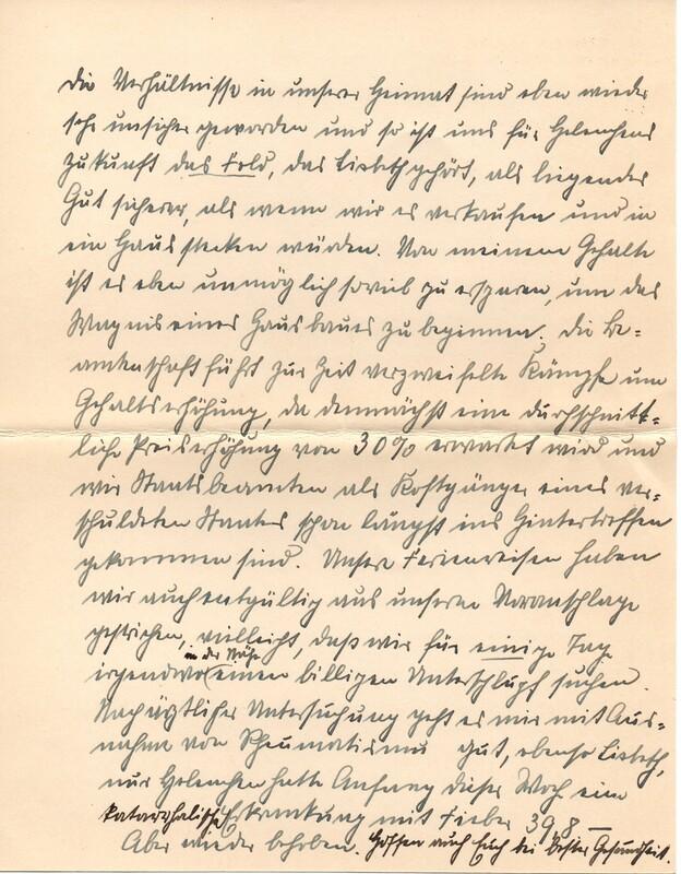 Eugen and Lisbeth Haas to Eugen Klee, June, 1927, p. 8