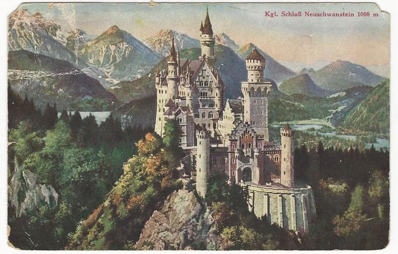 Postcard to Lina Höllmüller Rauch, date uncertain