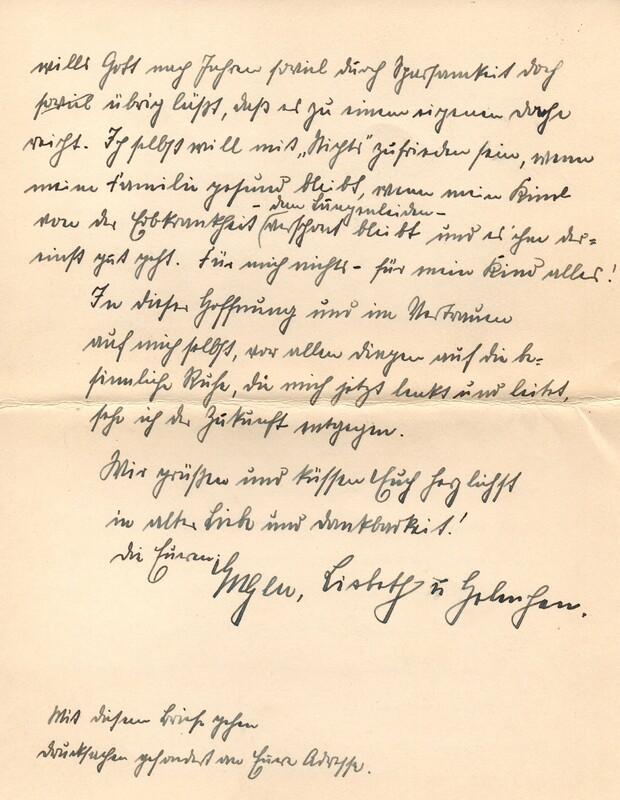 Eugen and Lisbeth Haas to Eugen Klee, June, 1927, p. 10