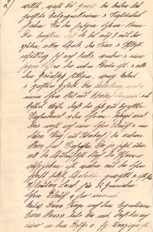 Mathilde Rettig and Heinrich Rettig to Eugen Klee, June 3, 1920, p. 5