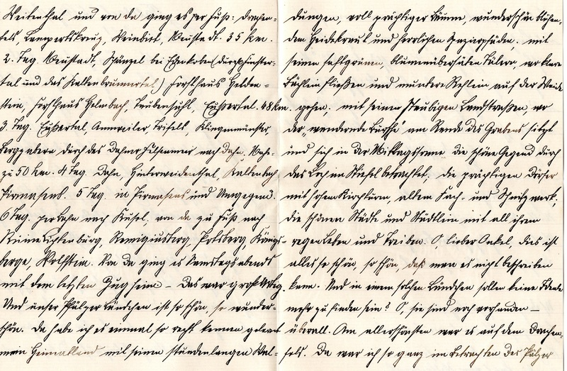 Eugen Haas to Eugen Klee, August 25, 1909, page 2