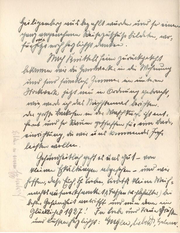 Eugen and Lisbeth Haas to Eugen Klee, December 9, 1926, p. 8