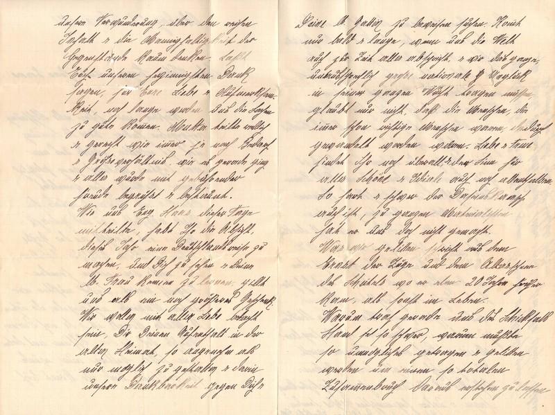 Mathilde Rettig to Eugen Klee, February 29, 1920, p. 2 and p. 3