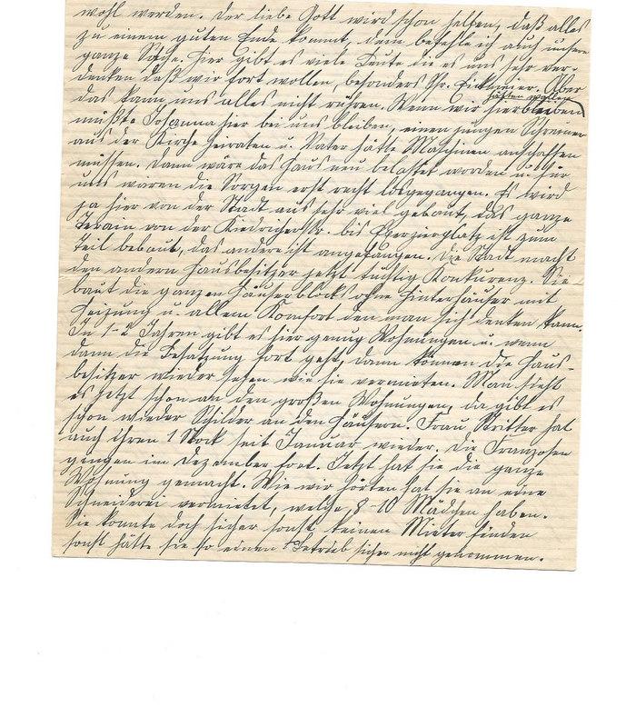 Caroline Emmel to Karl Emmel, February 21, 1927, p. 2