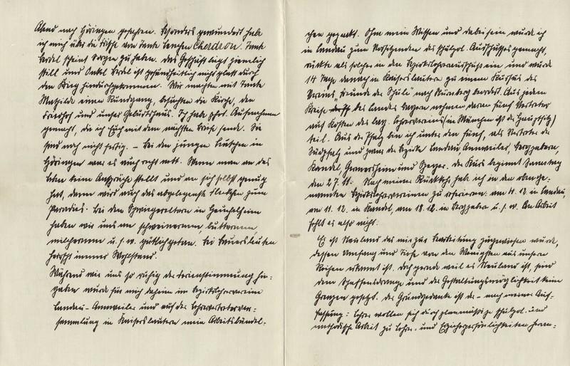 Eugen and Lisbeth Haas to Eugen Klee, November 24, 1920, p. 2-3