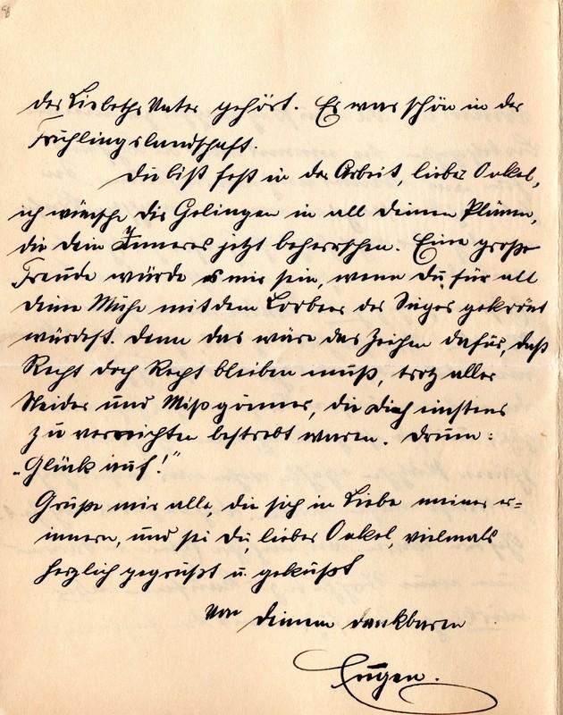 Eugen Haas to Eugen Klee, April 28, 1912, page 6