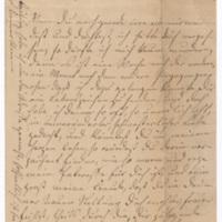 Emilie Hassel to Friedrich Wilhelm Hess, June 6, 1877, p. 1
